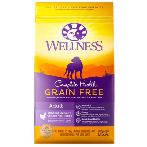is wellness a food complete health grain free deboned chicken chicken meal