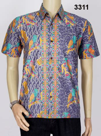 Baju Batik Papa jual kemeja batik kain katun edisi batik papua saisoku