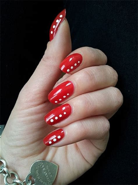 easy nail art red easy red nail art designs ideas for girls 2013 2014