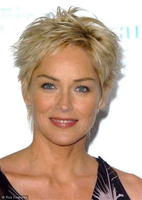 haircuts alcohol sharon stone pictures short hair open raw pictures machu