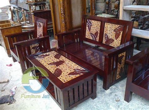 Kursi Minimalis Kayu Akasia pilihan desain kursi kayu untuk ruang tamu rumah minimalis 2016