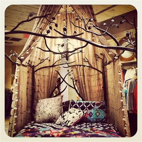 forest canopy bed forest canopy bed boho anthropologie and forests