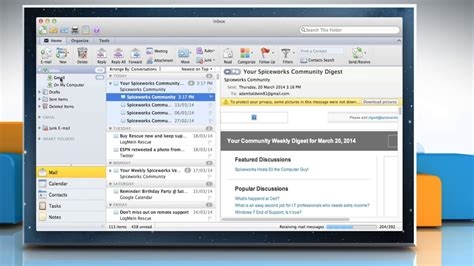 optimizing and troubleshooting outlook for mac os x intermedias set up pop email account in outlook 2011 for mac 174 os x