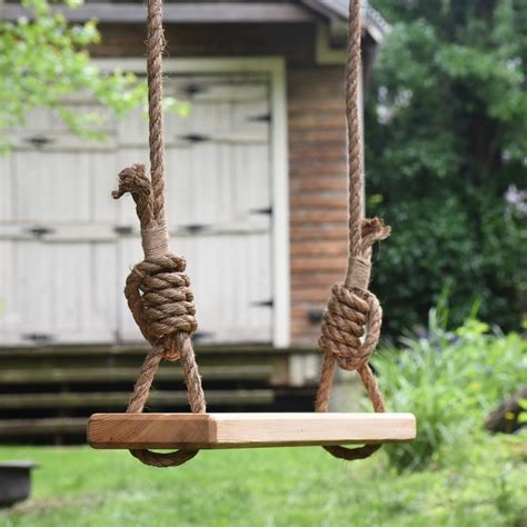 rope swing olde fashioned tree swing wooden outdoor rope swing