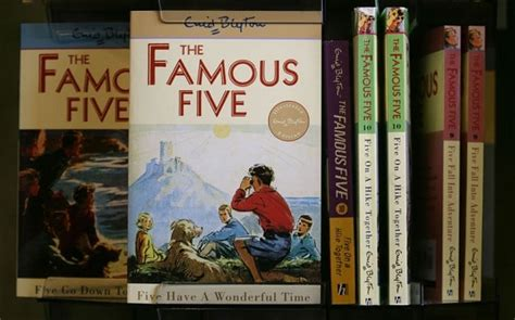 famous books famous five books to be revived for television telegraph