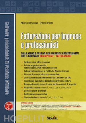 libreria professionisti fatturazione per imprese e professionisti benvenuti