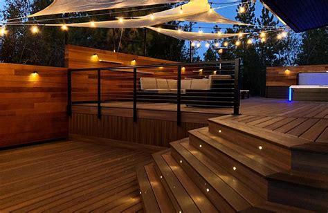 outdoor led deck lighting inlite lighting for outdoor