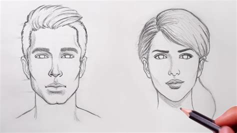 A Drawing Of A Person by How To Draw For Beginners Drawings Inspiration