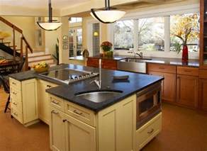 pictures of kitchen islands with sinks 15 functional kitchen island with sink home design lover