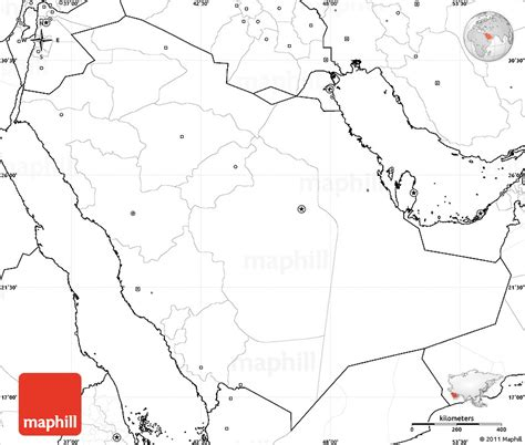 Saudi Map Outline by Blank Simple Map Of Saudi Arabia No Labels