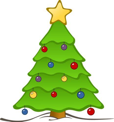 weihnachtsbaum zeichnen public domain vektoren