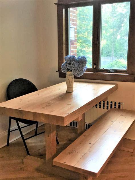 rustic butcher block table made rustic farmhouse trestle farm butcher block
