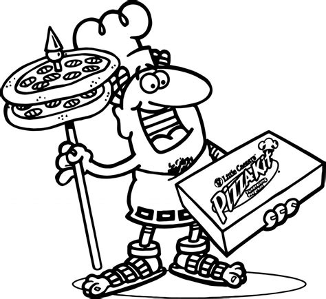 pizza coloring page caesars pizza coloring page wecoloringpage