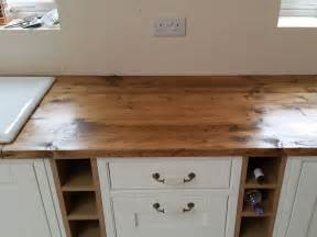 Pine Corner Bookcase Reclaimed Scaffold Worktops Dove Furniture Amp Kitchens York