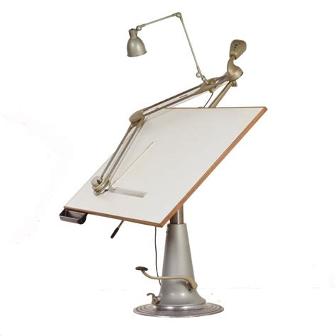 Drafting Table Arm Industrial Nike Drafting Table Lower Model With Drafting Arm L Sweden 1950s 62200