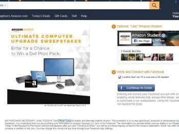 Computer Sweepstakes - the amazon student ultimate computer upgrade sweepstakes sweepstakes fanatics