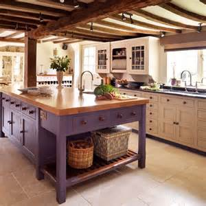Painted Country Kitchen Cabinets Relics Of Witney The Best Farrow And Paint Colours For Kitchen Units