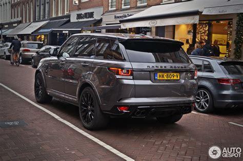range rover silver 2016 land rover range rover sport svr 4 january 2016 autogespot