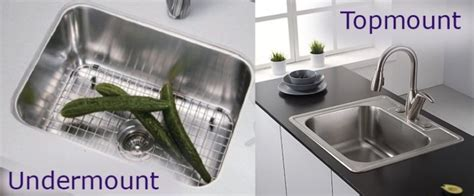 Which Kitchen Sink Basin Is Right For You Top Mount Vs Undermount Kitchen Sink