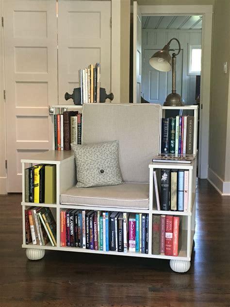 bookshelf chair books shelf ideas