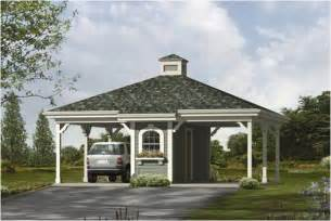 Detached Carport Plans Garage Plans And Garage Blue Prints From The Garage Plan Shop