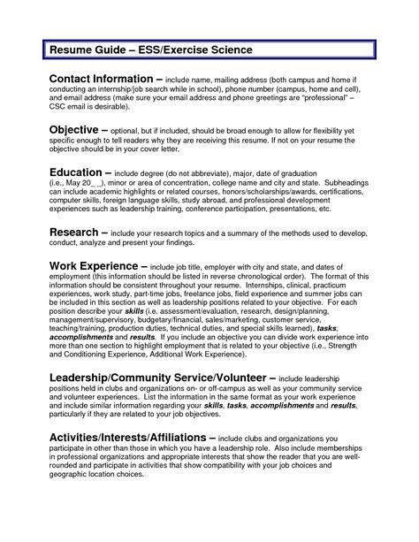 sample resume objectives resume badak - Objective Sample For Resume