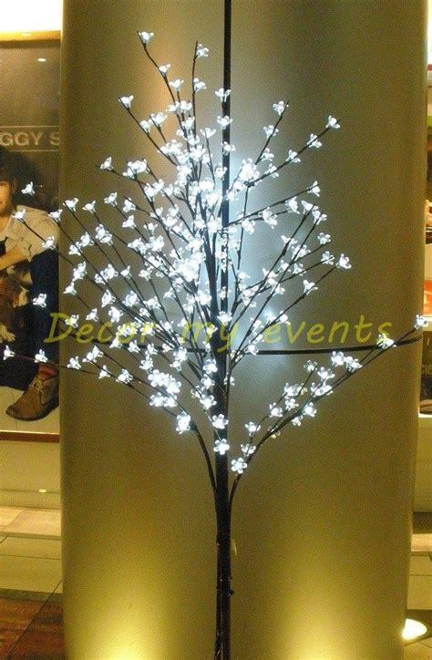 luces de colores ibid wood tree led elegante 225 rbol de cerezo con flores