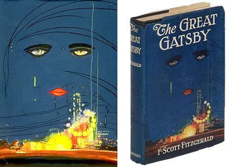symbolism of great gatsby cover when f scott fitzgerald judged gatsby by its cover arts