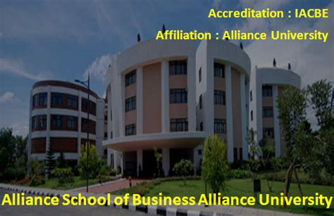 Alliance Bangalore Executive Mba Reviews by Top Mba Colleges In Bangalore List Top 10 Mba Colleges