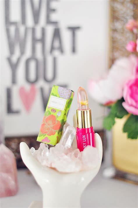 Winky Flower Ph Balm Pink winky flower lip balm stain instagram giveaway