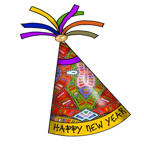 new year decorations clipart artbyjean paper crafts happy new year hats