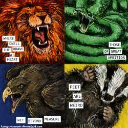Houses Of Hogwarts by Hogwarts Houses Images Femalecelebrity