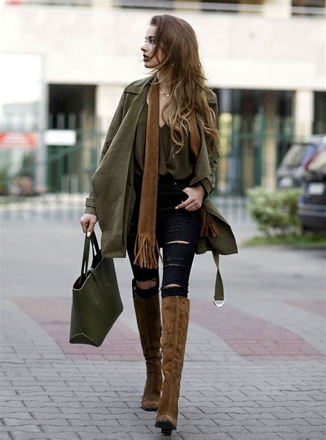 inspirations what to wear with brown boots be