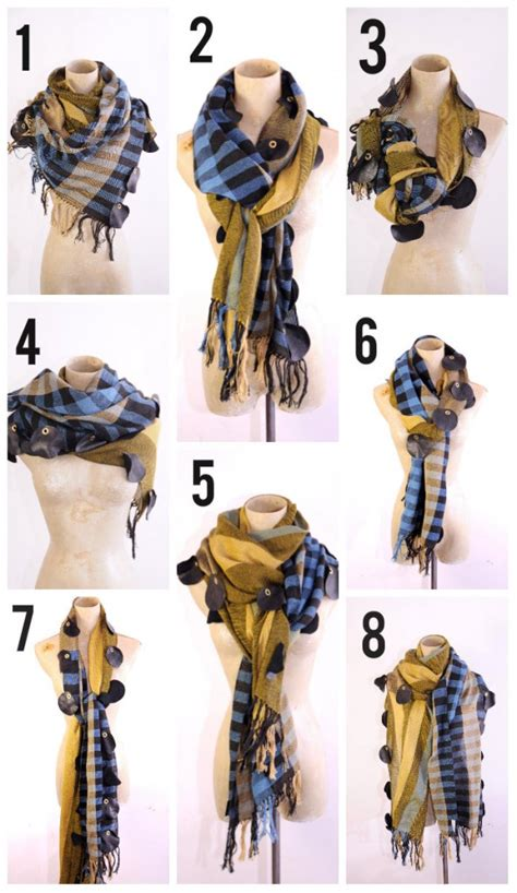 8 Cool Ways To Wear A Scarf by 8 Ways To Wear A Scarf This Winter Start Your Collection