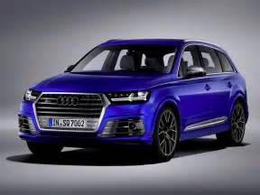 Audi Suv Photos 2017 Audi Sq7 Tdi Diesel Suv Review Best Midsize Suv