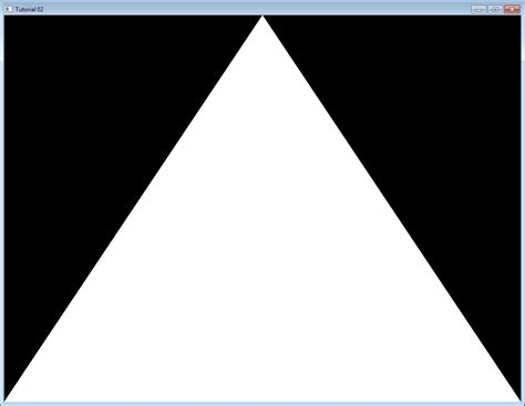 two triangle tutorial 2 the triangle