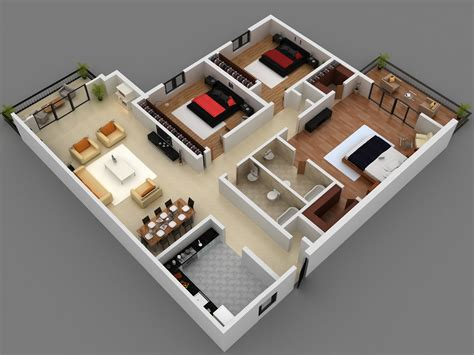 5 Level Split Floor Plans by 3 Bedroom Floor Plans Home Round