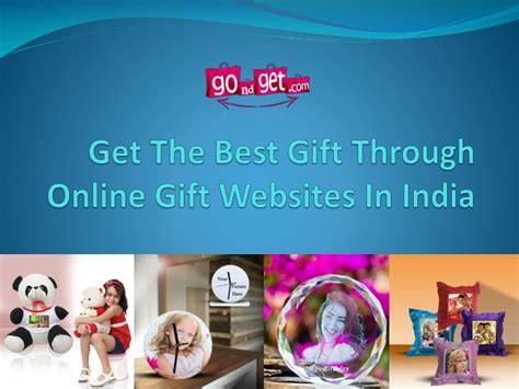 best gift websites ppt get the best gift through gift websites in