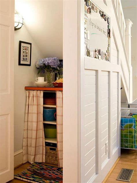 Storage Ideas For Closet Stairs by 20 Clever Basement Storage Ideas Hative