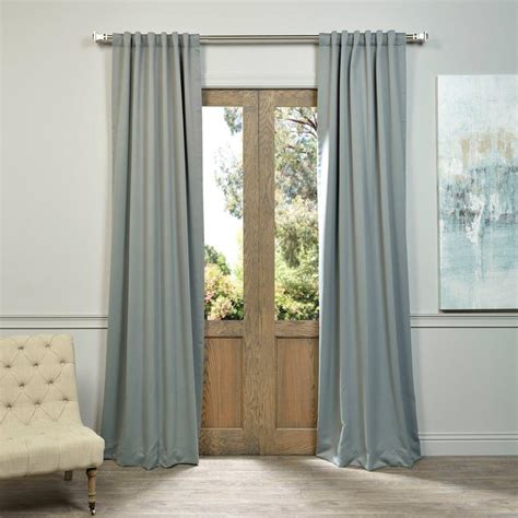 50 x 96 curtains exclusive fabrics furnishings semi opaque natural grey