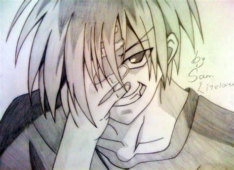 imagenes a lapiz de anime una selecci 243 n de dibujos de anime y manga hechos por mi
