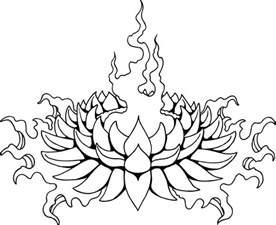 Line Lotus Lotus Line Drawing Clipart Best