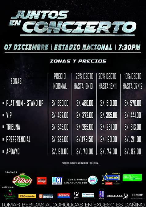 precio entradas romeo santos 2015 marc anthony y romeo santos en lima estos los precios