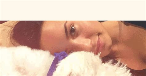 demi lovatos dogs tragic death new details about what demi lovato is devastated after death of dog buddy us weekly