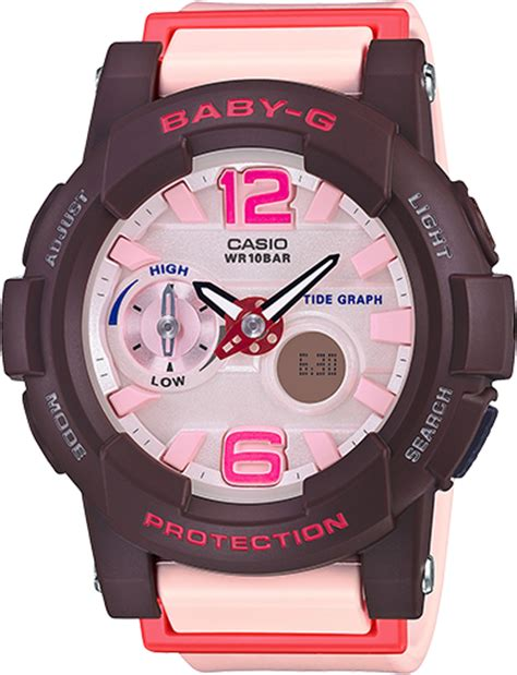 Jam Tangan Wanita Spport Casio Baby G Natasya Willona Model Terbaru 4 bga180 4b4 baby g pink womens watches casio baby g