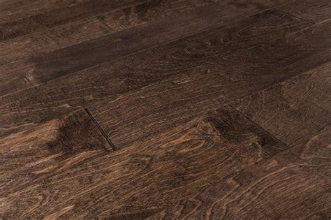 what is distressed hardwood flooring