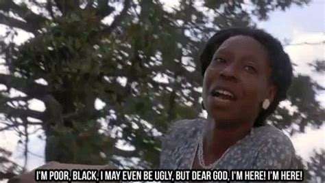 color purple quotes i might be black the color purple by walker
