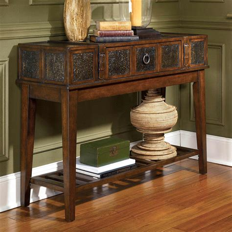 mckenna sofa table signature design by ashley mckenna sofa table living