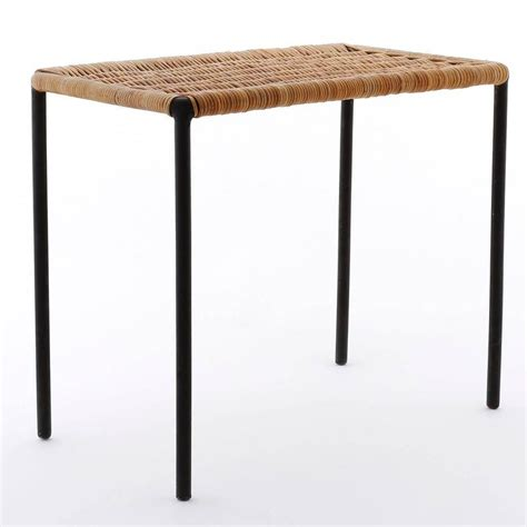 Wicker Table L Carl Aub 246 Ck Wicker Table Austria 1950s For Sale At 1stdibs