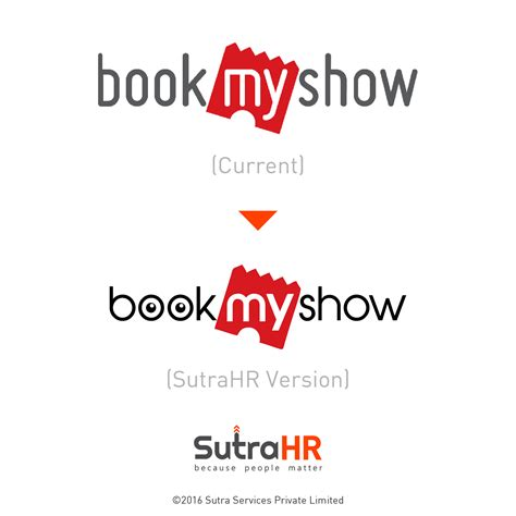 bookmyshow logo 9 top startup logos redesigned sutrahr style brand and